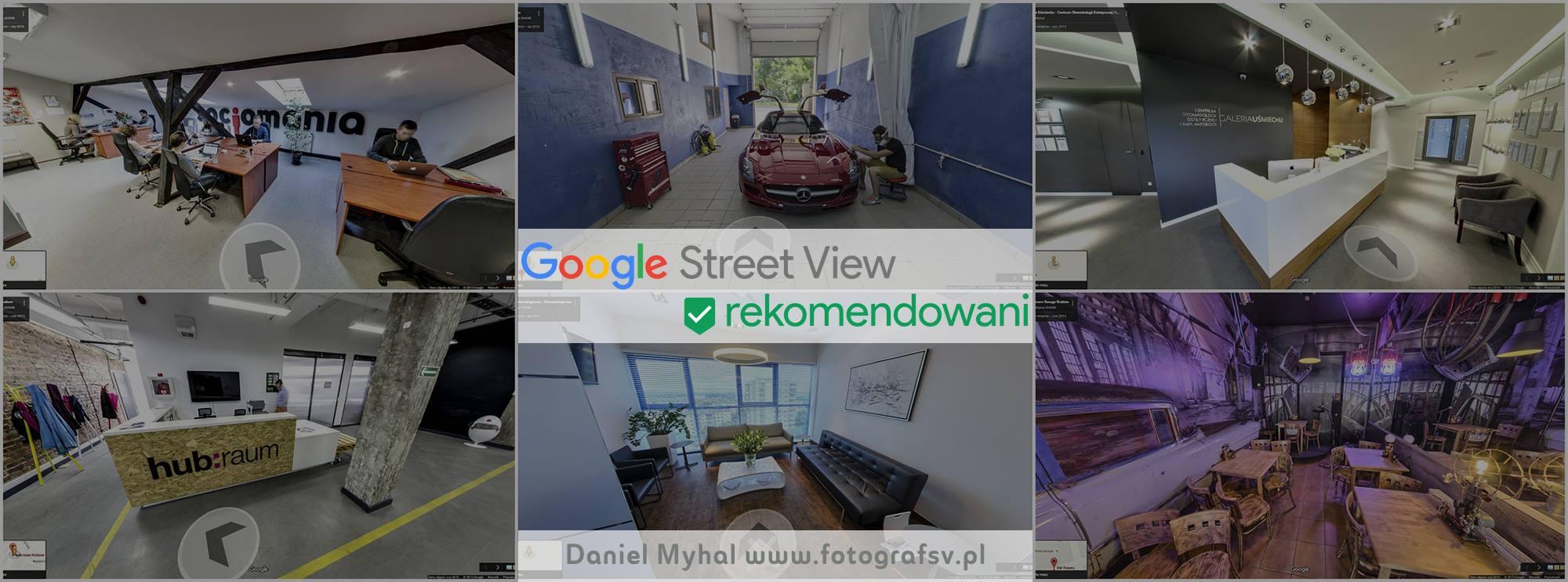 Rekomendowany fotograf Google — Dlaczego warto wybrać rekomendowanego przez Google do stworzenia spaceru 360 firmy?