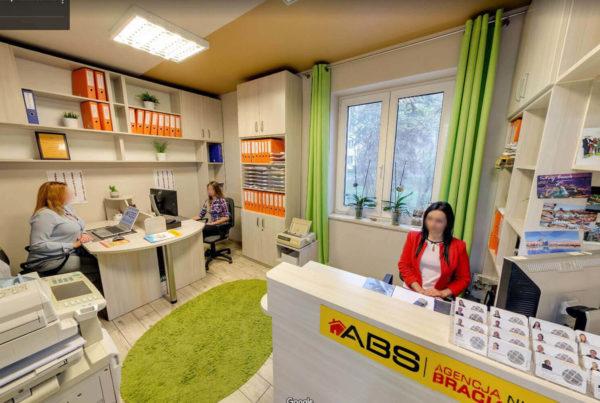 Biuro nieruchomości Bracia Sadurscy Kraków Rekomendowany Fotograf Google wirtualne spacery