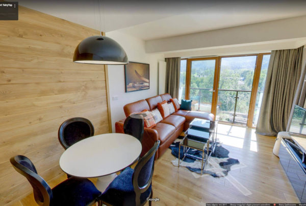 Ski Resort wirtualny spacer w apartamencie Google Street View Daniel Myhal
