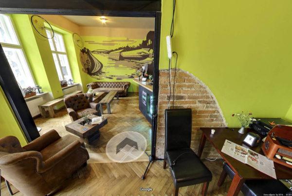 Wirtualny spacer w Kawiarni Bike Like Cafe zdjęcia wnętrz w mapach Google