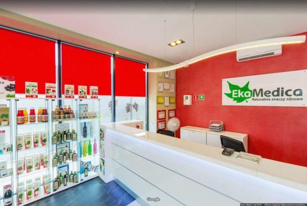 Firma w mapach Google wirtualny spacer po biurze EkaMedica