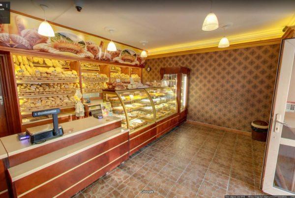 Wirtualny spacer Bielsko Biała piekarnia w mapach Google