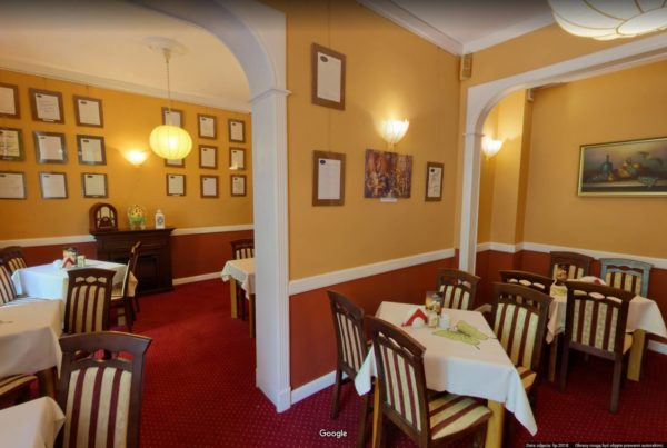 Wirtualny spacer Google po kawiarnii Busko Zdrój Sanato Fotograf zdjęcia 360