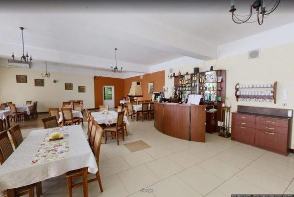 Wirtualny spacer Google po restauracji Busko Zdrój Sanato Fotograf Google