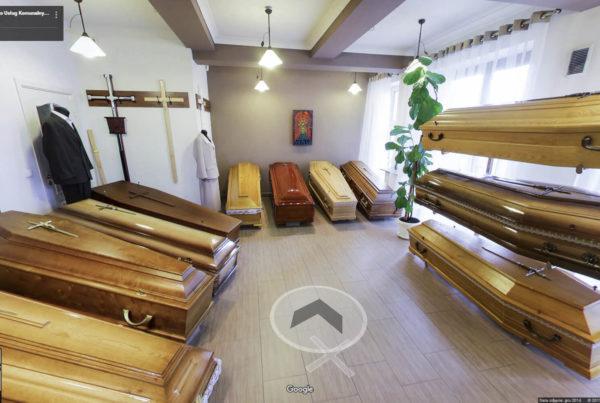 Zakład pogrzebowy PUK – Rakowicka