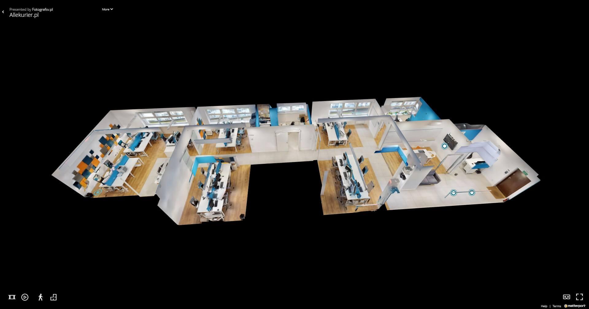 Wirtualny spacer 3D – zaciekaw klienta i przyciągnij go do swojej marki!