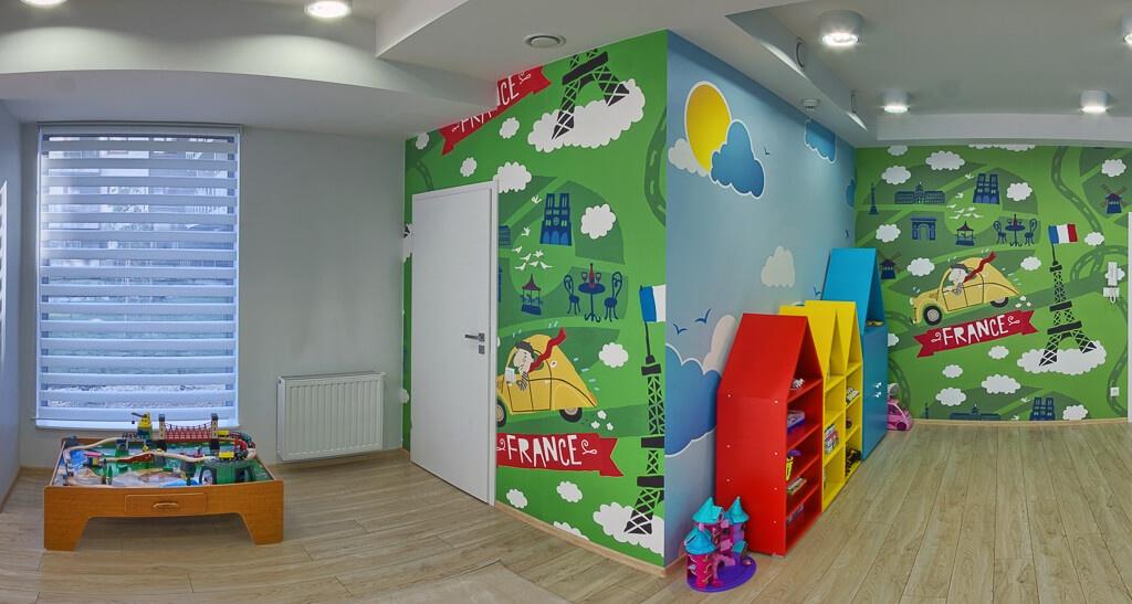Zdjecia panoramiczne Street View w przedszkolu