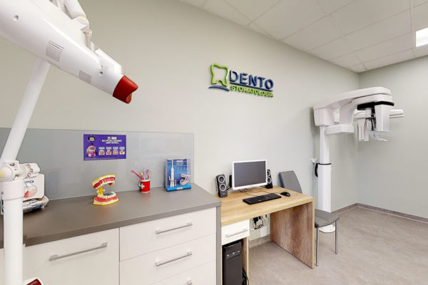 Wirtualny spacer w Dento Stomatologia dentysta centrum stomatologiczne Gliwice Model 3D