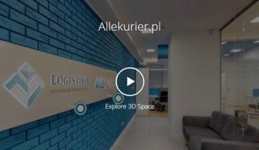 Automatyczne przejście po wirtualnym spacerze 3D
