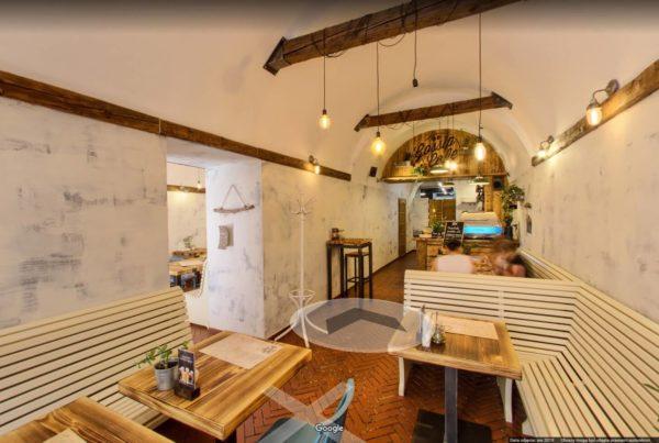 Lokal gastronomiczny wirtualny spacer kraków
