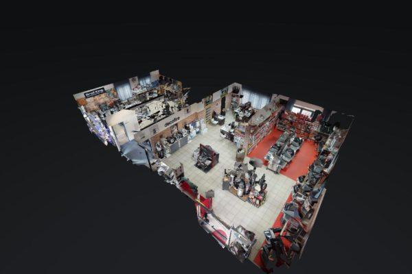 Wirtualny spacer z modelem 3D Multibrand Decofirepl Wyposazenie wnetrz i ogrodow 09262019 090027