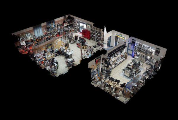 Wirtualny spacer z modelem 3D Multibrand Decofirepl Wyposazenie wnetrz i ogrodow Dollhouse View