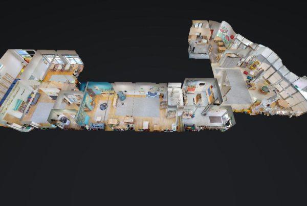 Wnętrza 3D Wirtualny spacer Przedszkole Open Future International School 10152019 122649