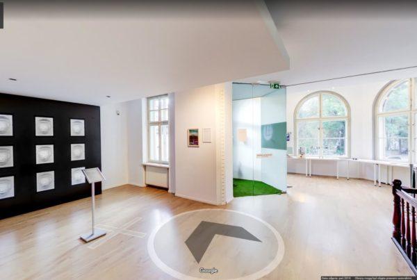 muzeum iluzji w street view wirtualny spacer