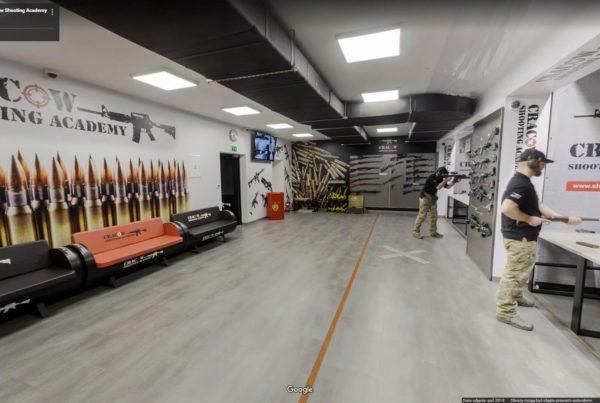 wirtualny spacer na strzelnicy kraków