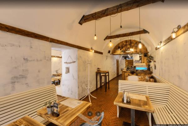 Gossip cafe wirtualny spacer Kraków