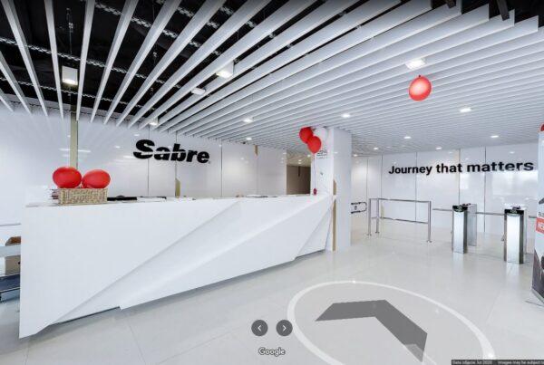 Wirtualny spacer w biurze Sabre Kraków