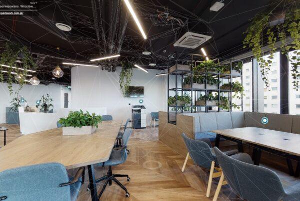 Spacer 360 w biurach